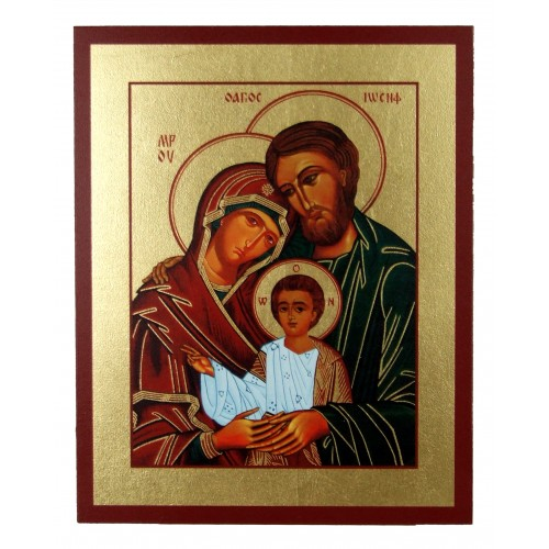 Ikona Złocona Święta Rodzina IK C-03