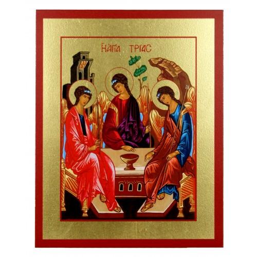 Ikona Złocona Trójca Święta (Trójca Rublowa) IK D-21