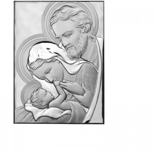 Obrazek srebrny Święta Rodzina IT8000406