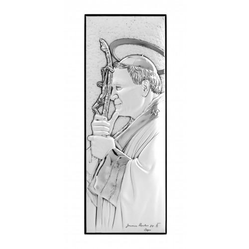Obrazek srebrny Święty Jan Paweł II 304814