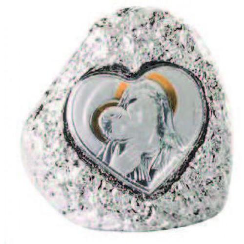 Figurka skałka Madonna z dzieciątkiem ma099/m