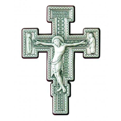 Krzyż Benedyktyński metalowy wiszący S2416/811