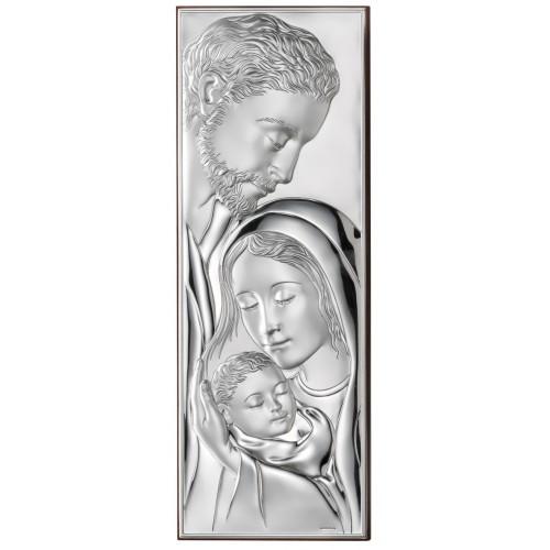 Obrazek srebrny  Święta Rodzina 552