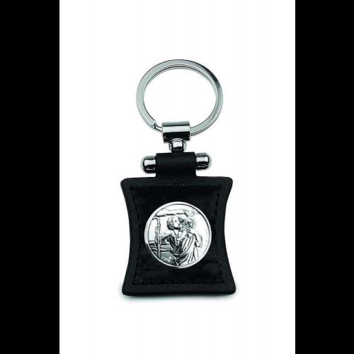 Brelok srebrny Święty Krzysztof 111724