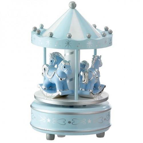Karuzela z konikami niebieska 21031C