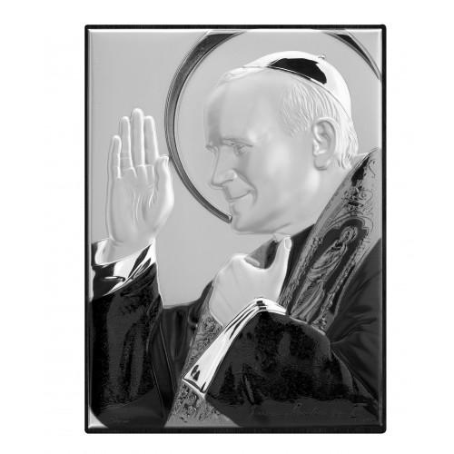 Obrazek srebrny Święty Jan Paweł II 307152, 8x11