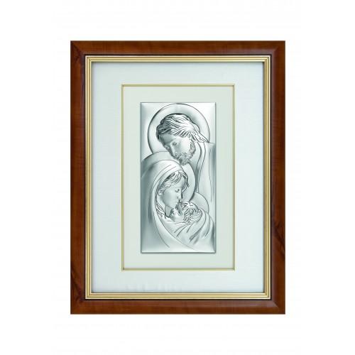 Obraz srebrny Święta Rodzina 6105/47, 52x66