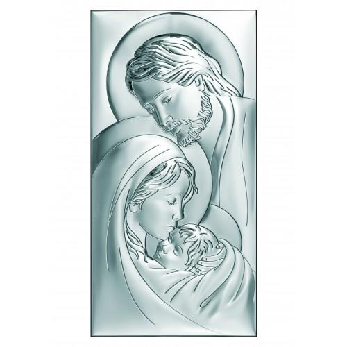 Obrazek srebrny  Święta Rodzina 6380/7