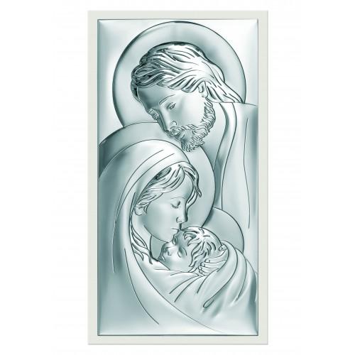 Obrazek srebrny  Święta Rodzina 6380/2W