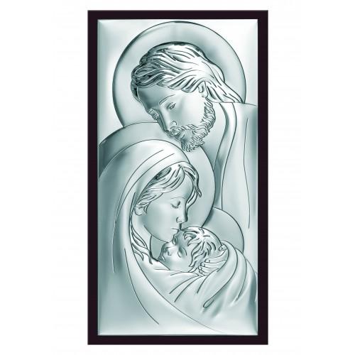 Obrazek srebrny  Święta Rodzina 6380/3WM