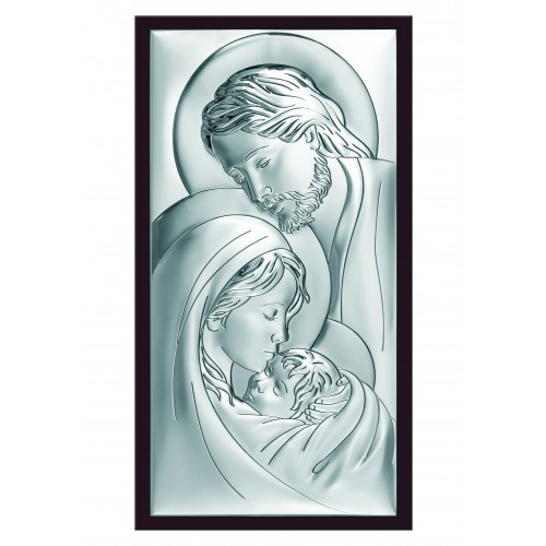 Obrazek srebrny  Święta Rodzina 6380/5WM
