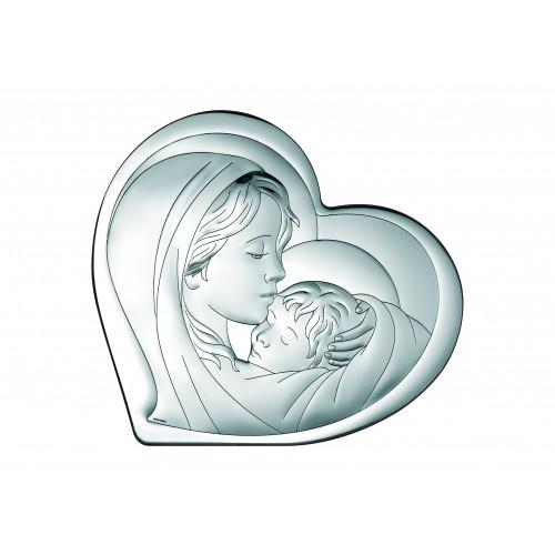 Obrazek srebrny  Madonna z dzieciątkiem 6433/2