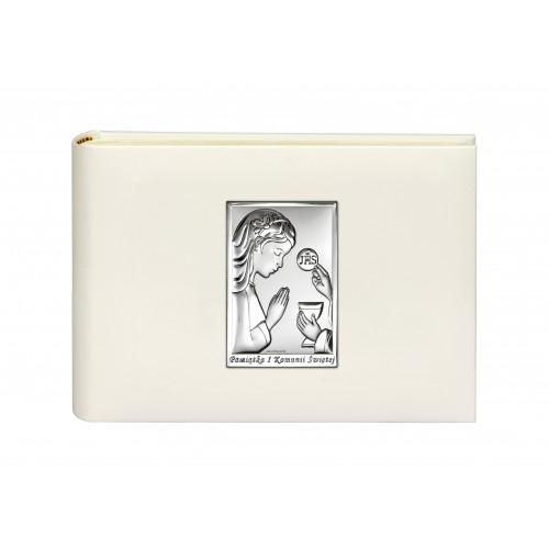 Album Na Zdjęcia Wraz Z Obrazkiem Pamiątka Pierwszej Komunii Świętej 6493/A