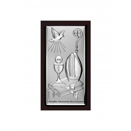 Obrazek srebrny Pamiątka Bierzmowania 6682S/2XWM