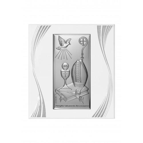 Obrazek srebrny Pamiątka Bierzmowania 6682SFP/2