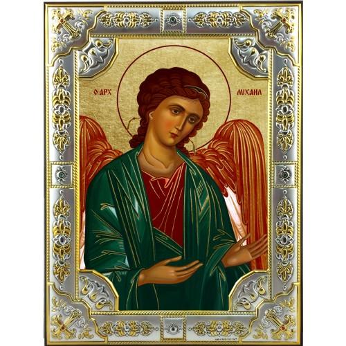 Ikona Srebrna Michał Archanioł IKR A-06