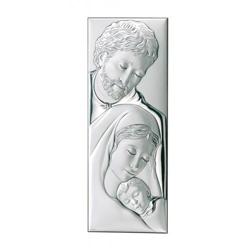 Obrazek srebrny  Święta Rodzina 749 2