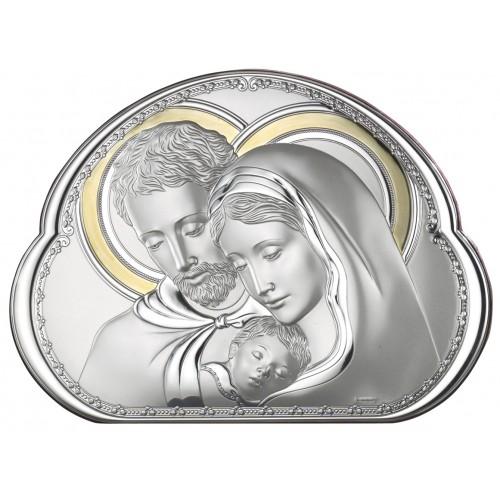 Obrazek srebrny  Święta Rodzina 8002 5 ORO