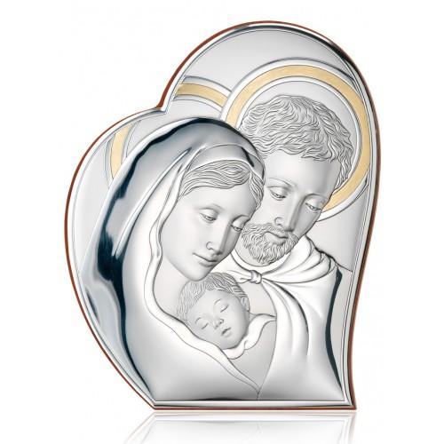 Obrazek srebrny  Święta Rodzina 81050/4ORO, 22x26