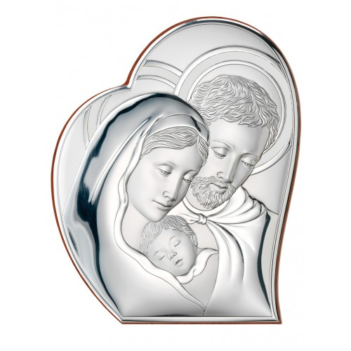 Obrazek srebrny  Święta Rodzina 81050/2, 12x15