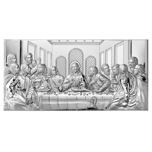 Obrazek srebrny Ostatnia Wieczerza 81221 5X