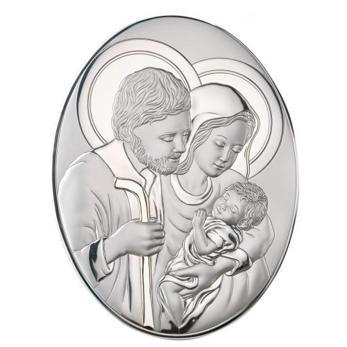 Obrazek srebrny  Święta Rodzina 82007 5
