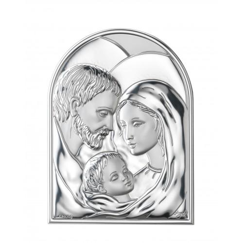 Obrazek srebrny  Święta Rodzina 951292, 13x18