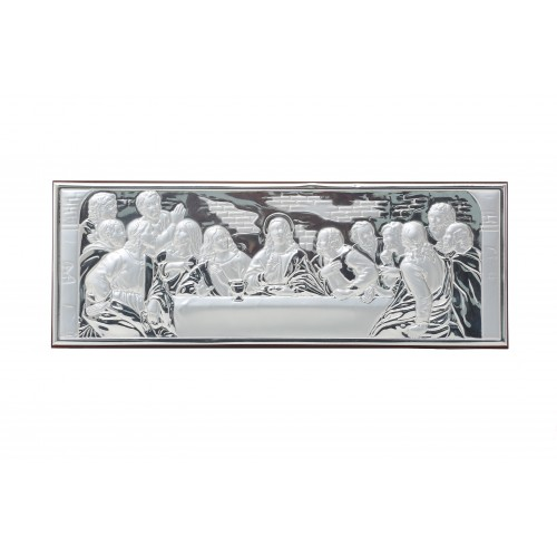 Obrazek srebrny Ostatnia Wieczerza 95H261