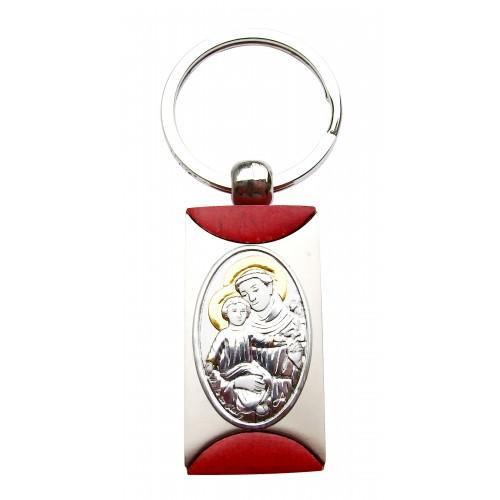 Brelok srebrny Święty Antoni B006ANT