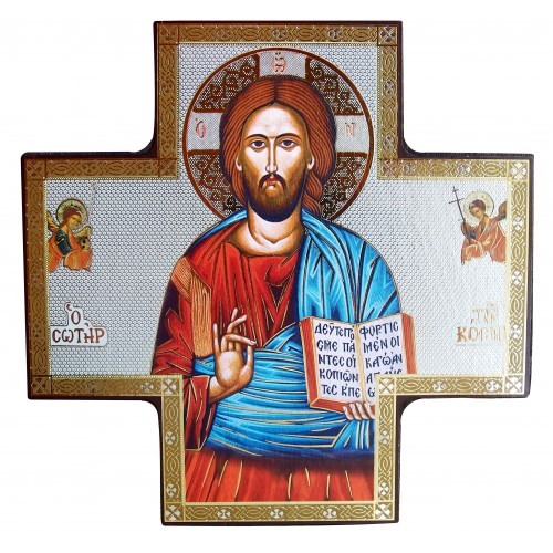 Ikona Chrystus Pantokrator C652/3, 15x15