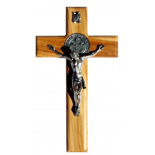 Krzyż Benedyktyński drewniany C677/U
