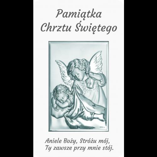 Panel Aniołek nad dzieciątkiem z latarenką D10/NE01/6325/2