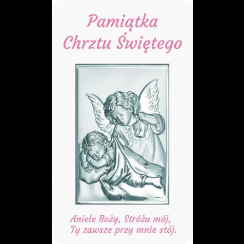 Panel Aniołek nad dzieciątkiem z latarenką D10/RA01/6325/2