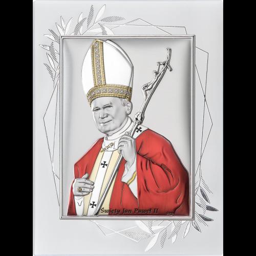 Obrazek Święty Jan Paweł II NA OZDOBNYM PANELU DS16FO/2C, 15x20 @