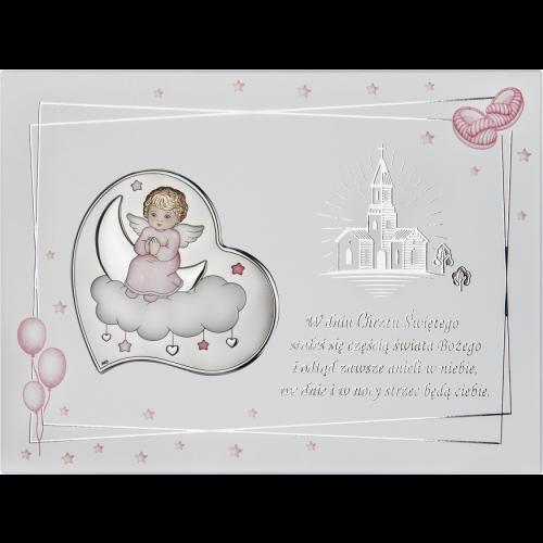 Obrazek aniołek na chmurce NA OZDOBNYM PANELU DS37FCR/2CR, 20x15 @