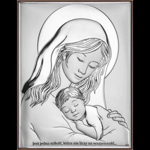 Obrazek Madonna z dzieciątkiem DS38/3X, 15x21 @