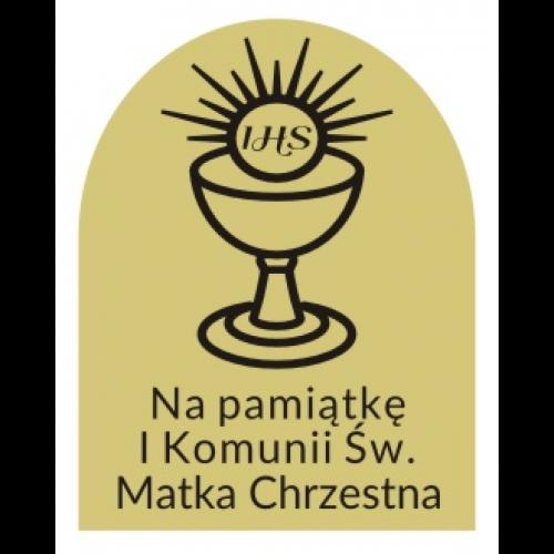 Grawer Pamiątka Pierwszej Komunii Świętej G7A/O