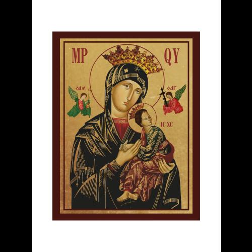 Ikona Złocona Matka Boska Nieustającej Pomocy IK1B-03SZ