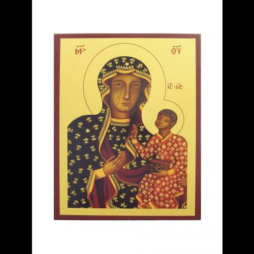 Ikona Prosta Matka Boska Częstochowska IK1D-04