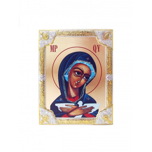 Ikona Srebrna Matka Boża Pneumatofora IK1B-05SZR