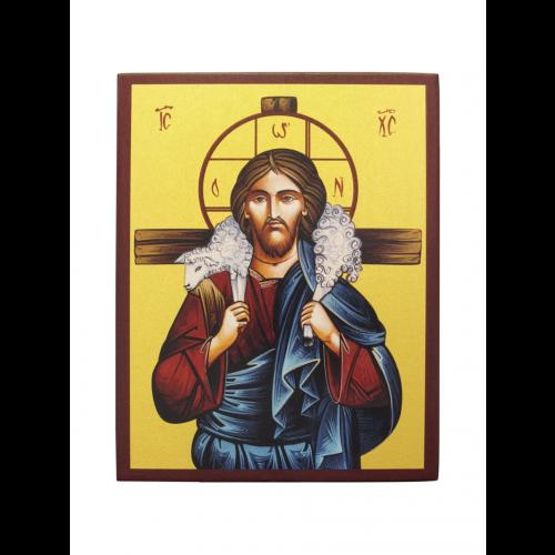 Ikona Prosta Chrystus Dobry Pasterz IK1D-06