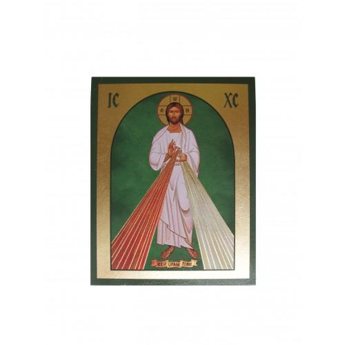 Ikona Złocona Jezu Ufam Tobie IK D-24