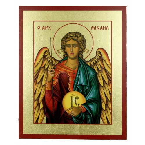 Ikona Złocona Michał Archanioł IK D-14