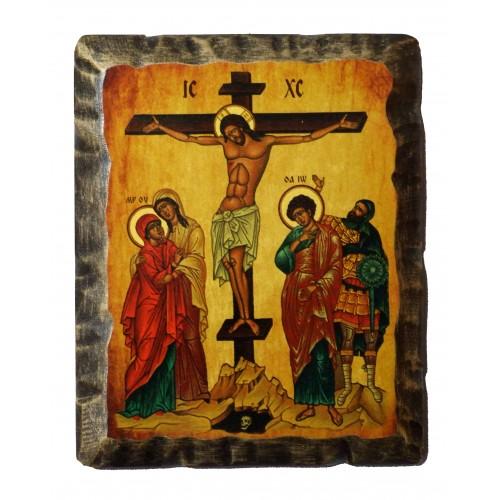 Ikona Stylizowana Trójca Święta (Trójca Rublowa) IKNC-15