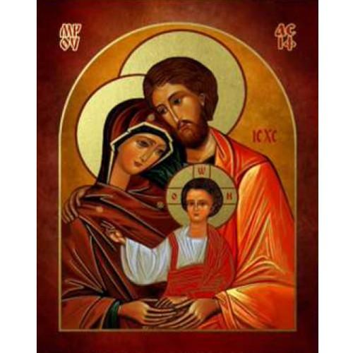 Ikona Prosta Święta Rodzina IKPA-03