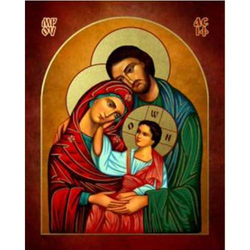 Ikona Prosta Święta Rodzina IKPB-04