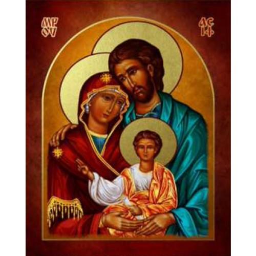 Ikona Prosta Święta Rodzina IKPC-05