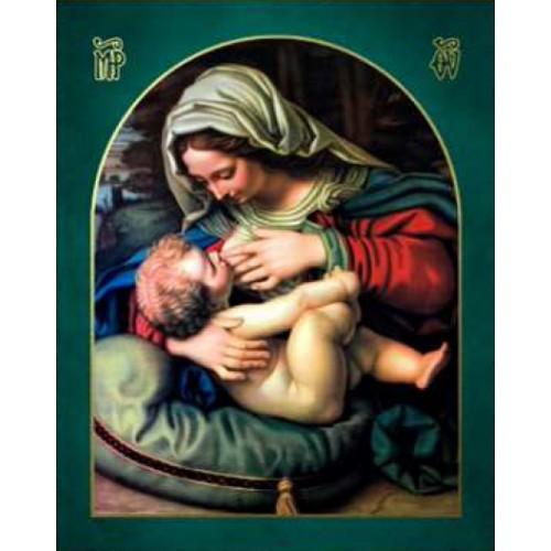Ikona Prosta Matka Boska z dzieciątkiem IKPB-14