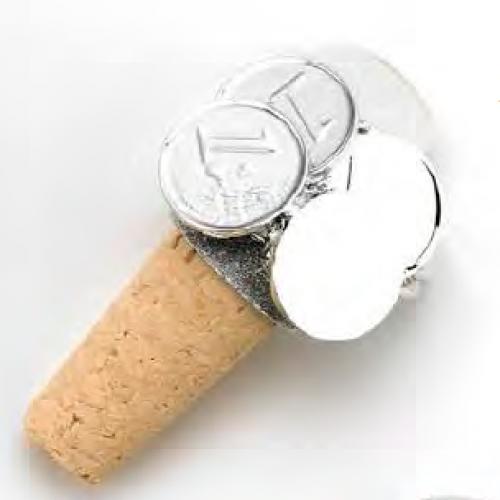 Korek do butelki monety Euro MA1299/M, 8cm
