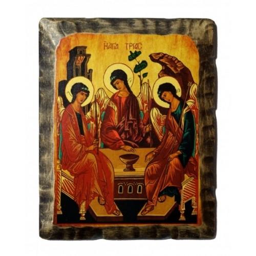 Ikona Stylizowana Trójca Święta (Trójca Rublowa) IKN C-14